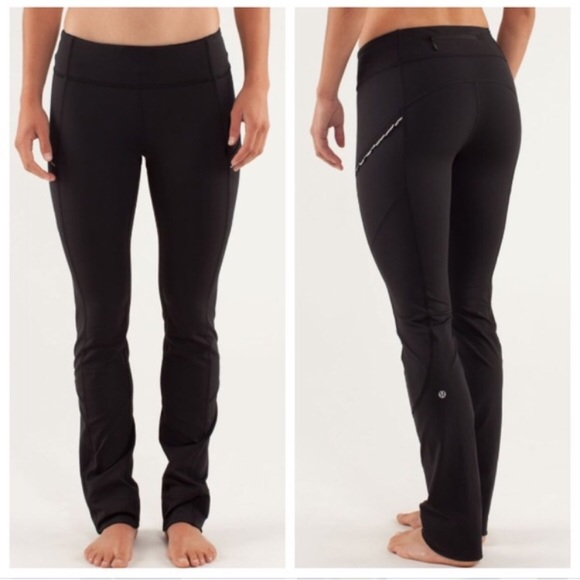 8ee793c0db317 lululemon athletica Pants - Lululemon run bright at night pant in black